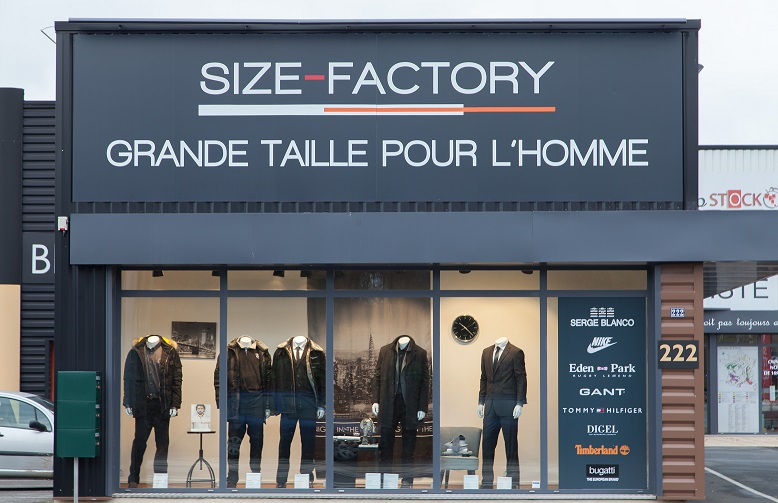 magasin size factory nantes